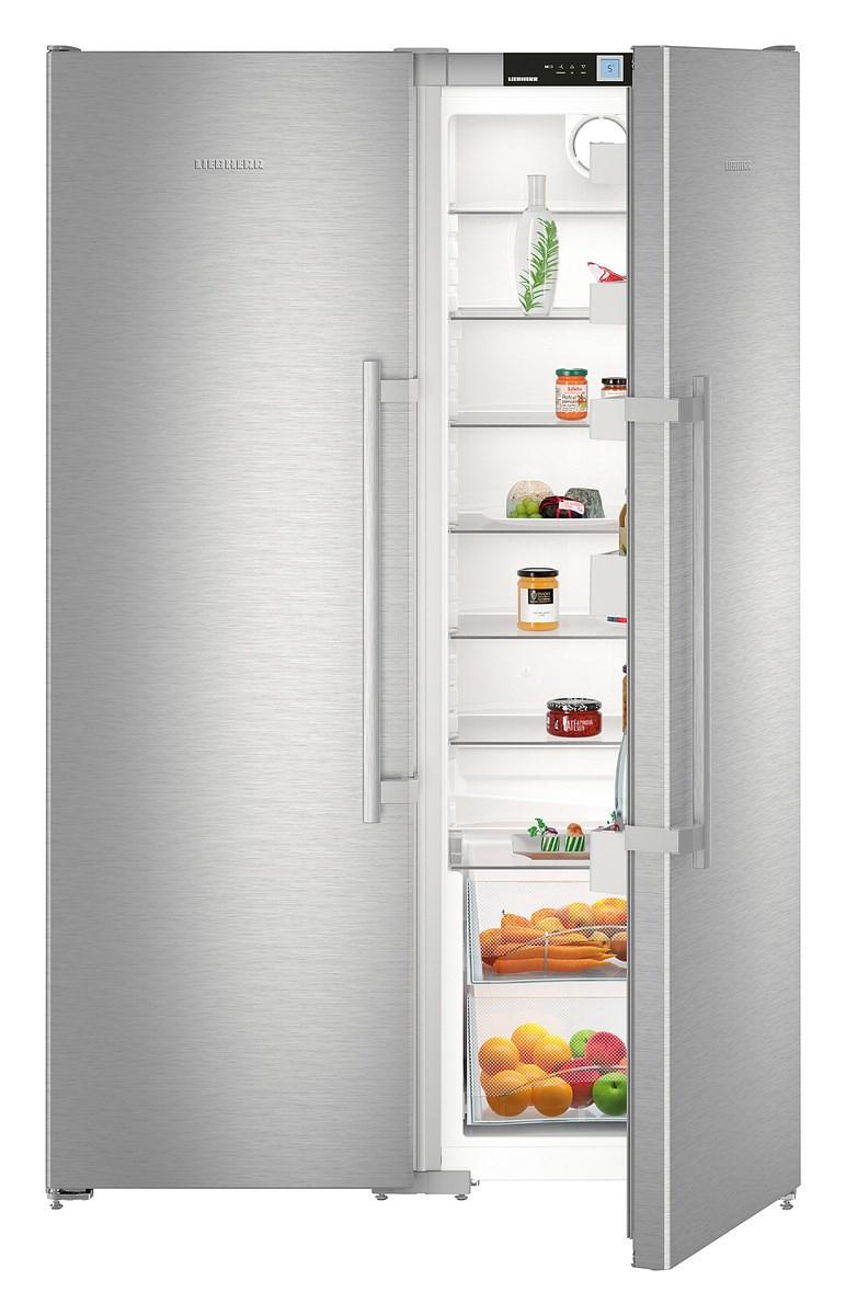 liebherr sbsef 7242 20 amerikaanse koelkast van liebherr. Black Bedroom Furniture Sets. Home Design Ideas