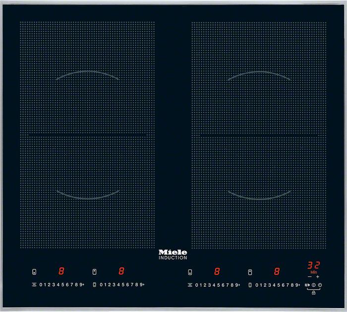 miele km 6328 powerflex inductie electromania. Black Bedroom Furniture Sets. Home Design Ideas