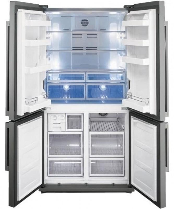 Smeg fq60xp amerikaanse koelkast van smeg fq60xp electromania - Model amerikaanse keuken ...