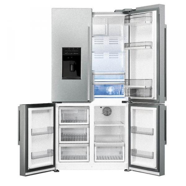 Smeg fq75xped amerikaanse koelkast van smeg fq75xped electromania - Frigo americain smeg ...